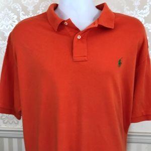 Men's Ralph Lauren Polo Shirt in Orange